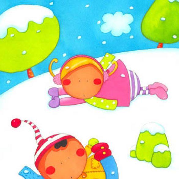 Sara, Tomé e o Boneco de Neve