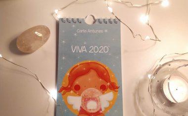 """Encomendar o calendário """"VIVA 2020"""""""
