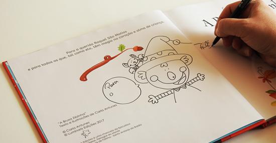 livro autografado